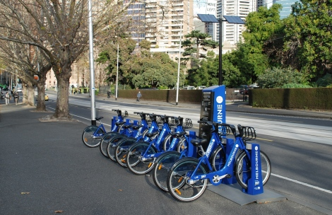 Melbourne's Bike Share